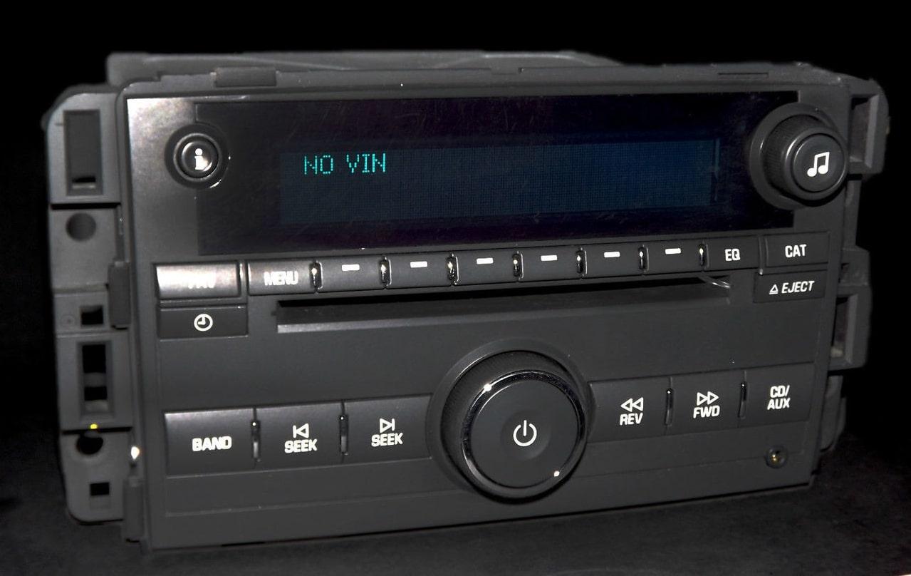 Chevrolet Radio Code