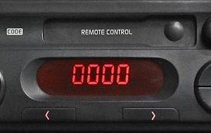 Clio Radio Code