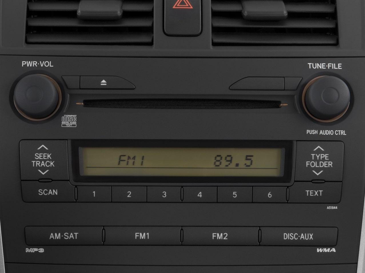 Corolla Radio Code