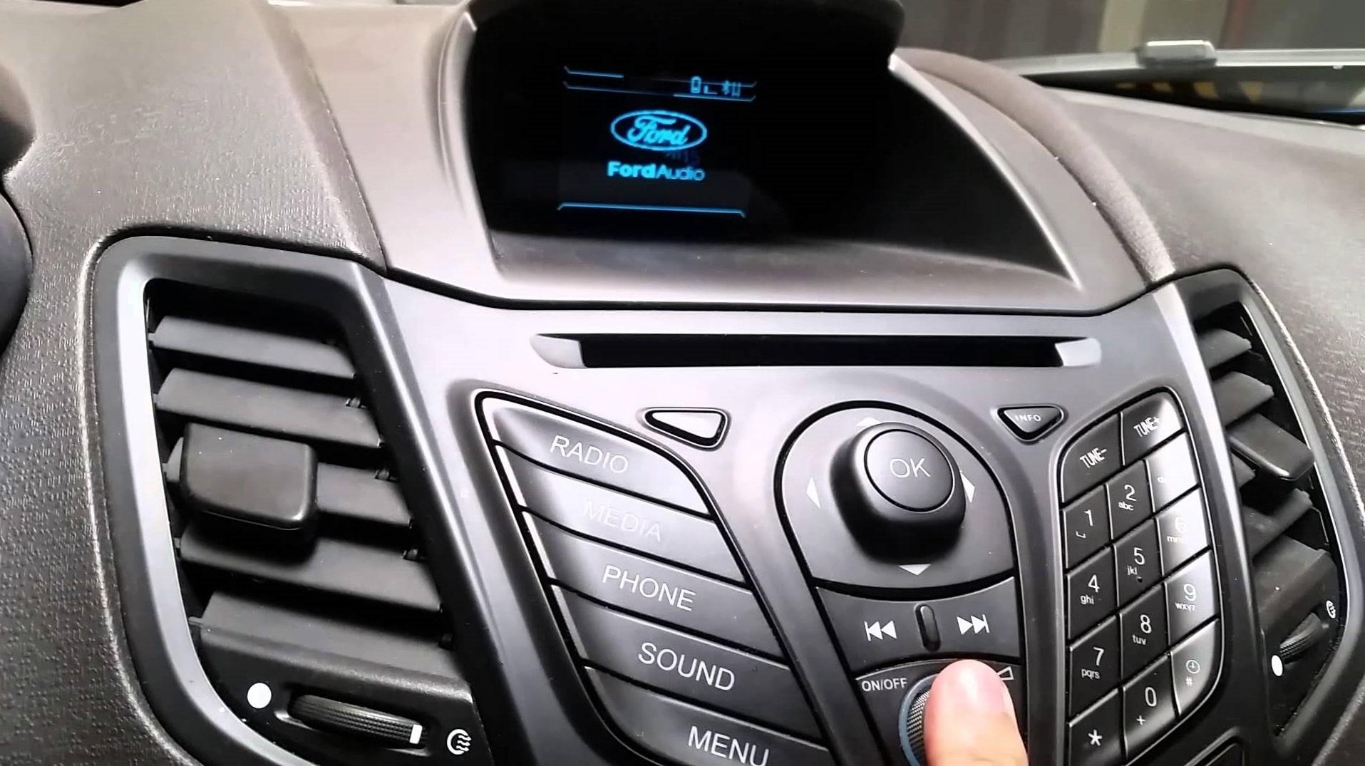 Ford Fiesta Radio Code