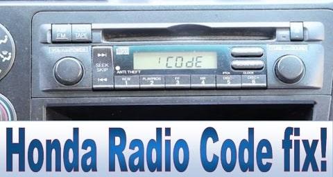 Honda Civic Radio Code