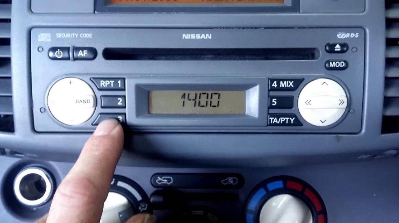 Nissan Micra Radio Code