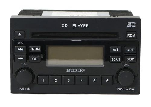 Buick Radio Code