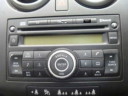 Qashqai Radio Code
