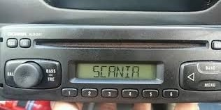 Scania Radio Code