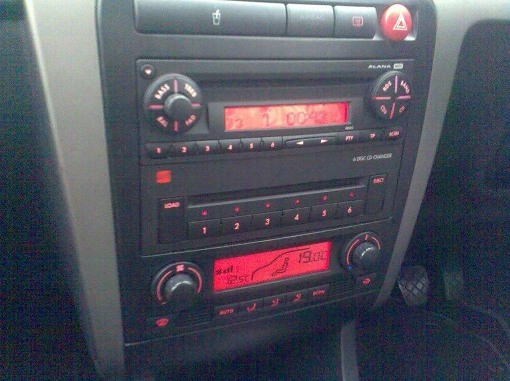 Seat Alana Radio Code