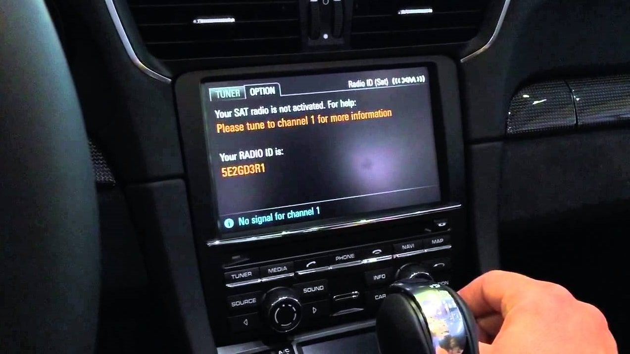 Sirius Radio Code
