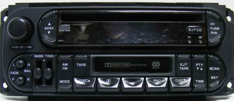 Chrysler Grand Voyager Radio Code