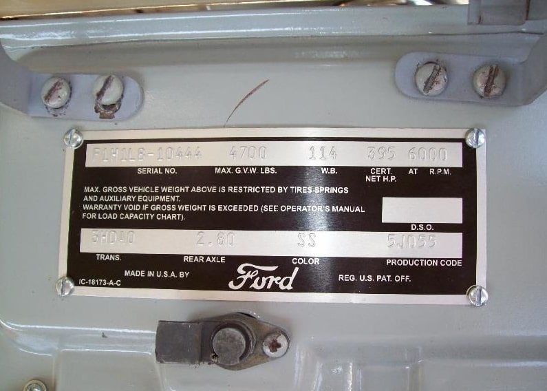 Ford Vin Decoder
