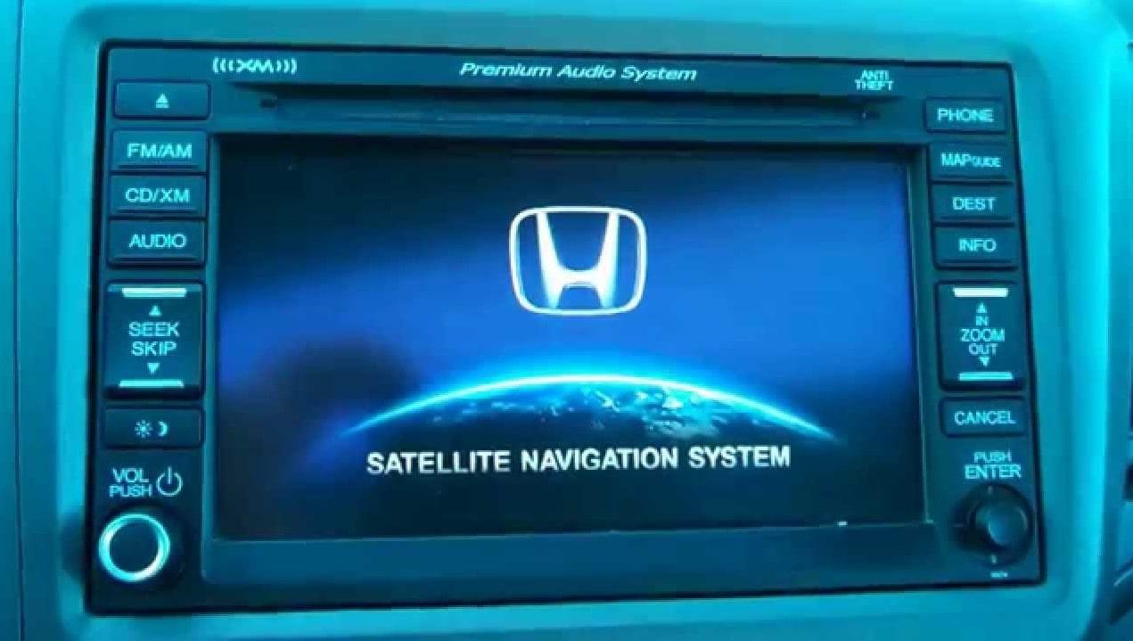 Honda Navigation Code