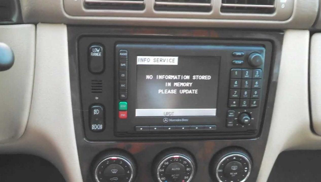 ML320 Radio Code
