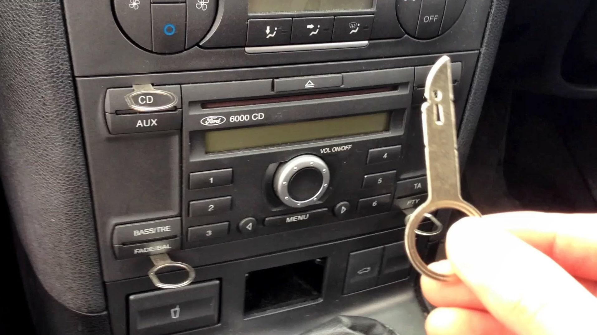 Mondeo Radio Code