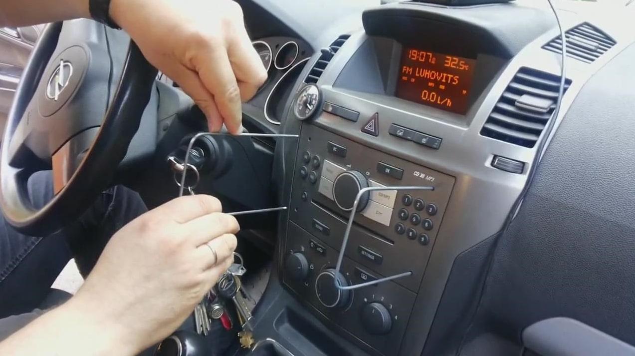 Opel Zafira Radio Code