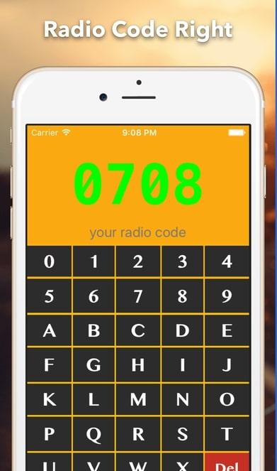 Radio Code Finder