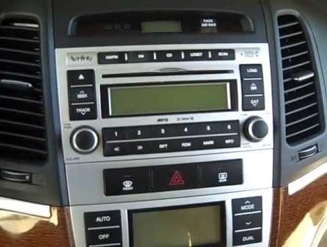 Hyundai Tucson Radio Code