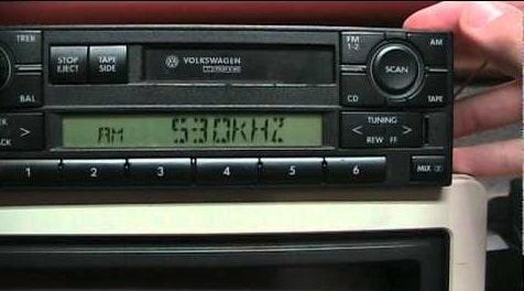 Jetta Radio Code