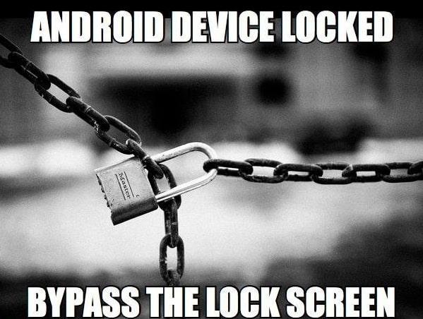 Screen Lock Bypass