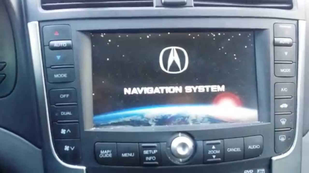 Acura MDX Navigation Code