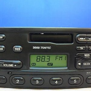 Ford 3000 Traffic Radio Code