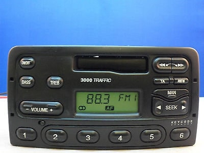 Ford 3000 Traffic Radio Code