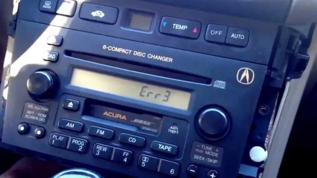 2004 acura mdx radio code