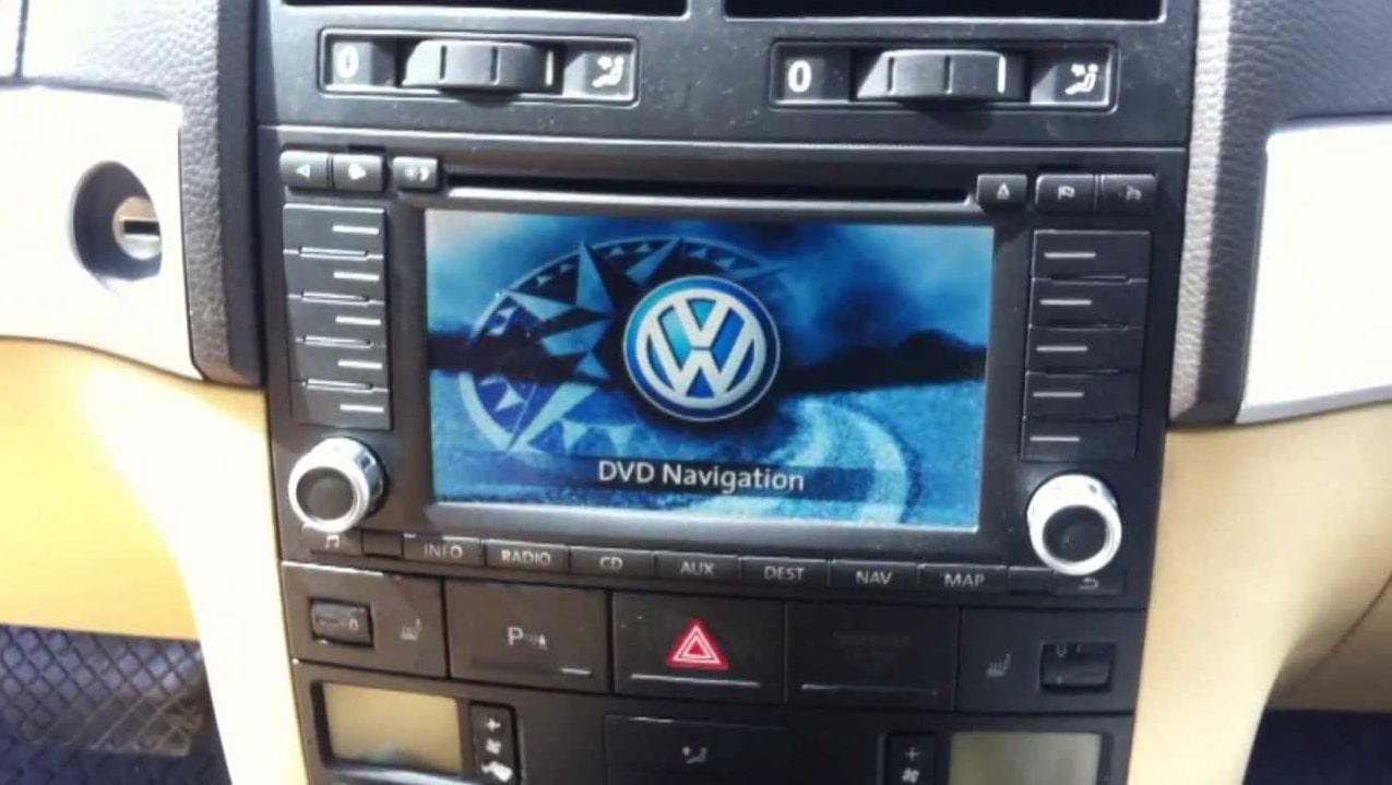 VW Touareg Radio Code