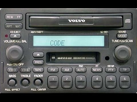 Volvo C70 Radio Codes