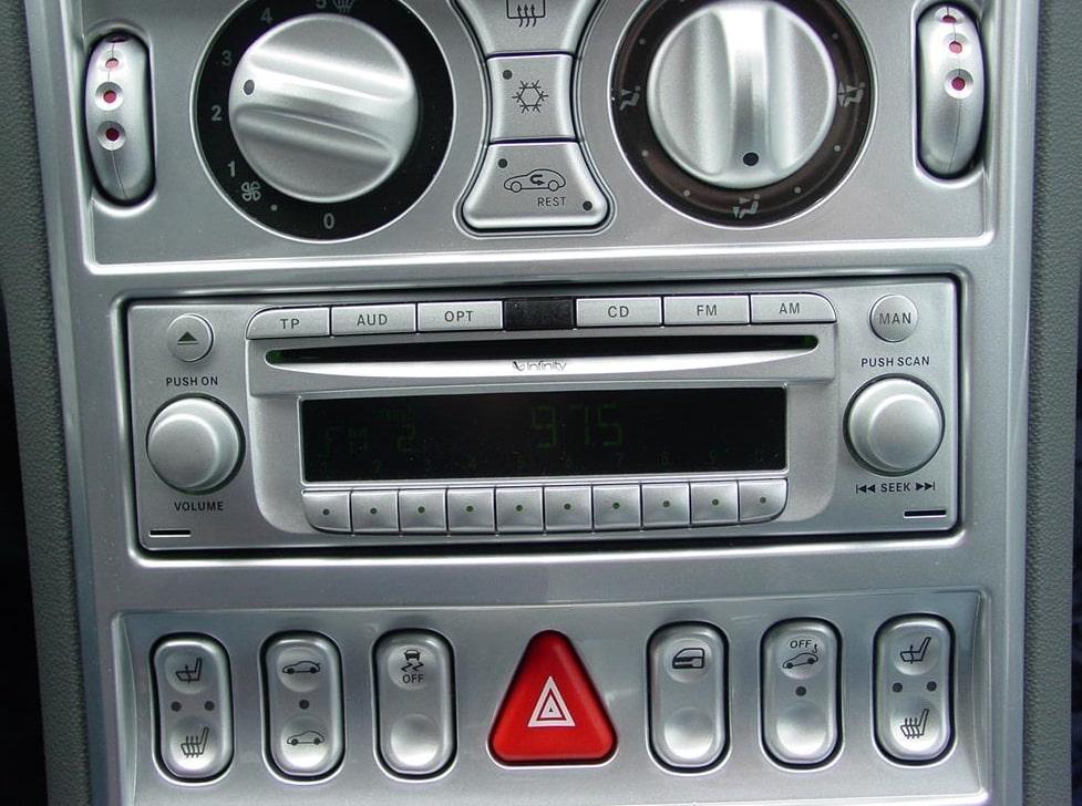 Chrysler Crossfire Radio Code