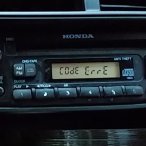 Honda Code Error