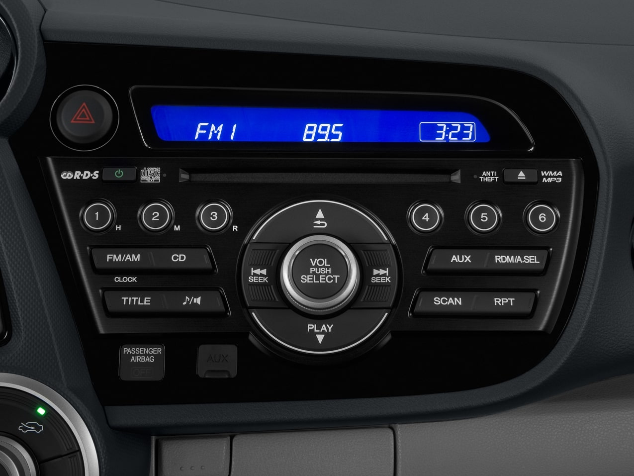 Honda Insight Radio Code
