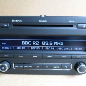 Skoda Rapid Radio Code