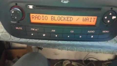 Fiat Qubo Radio Code