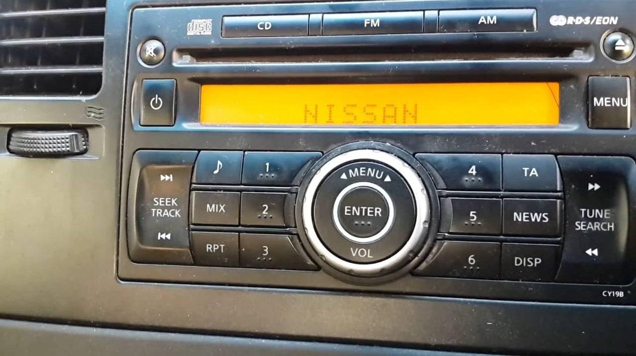 Nissan Sentra Radio Code
