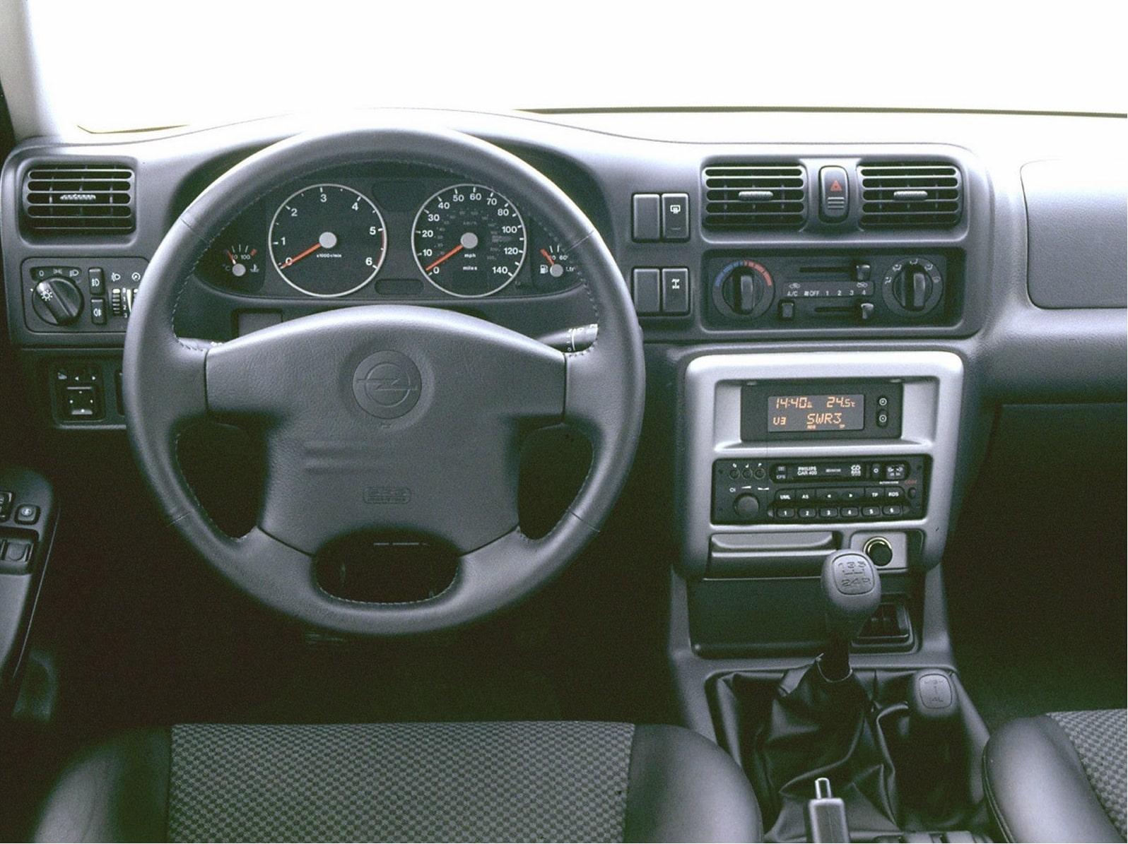 Vauxhall Frontera Radio Code