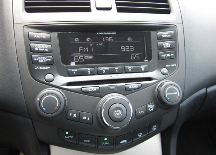 2005 Honda Accord Radio Code