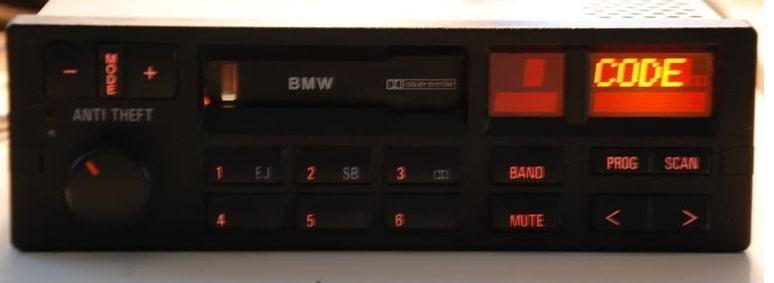 BMW Anti Theft