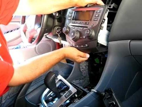 Remove Honda Radio