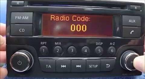 Enter Daewoo Radio Code