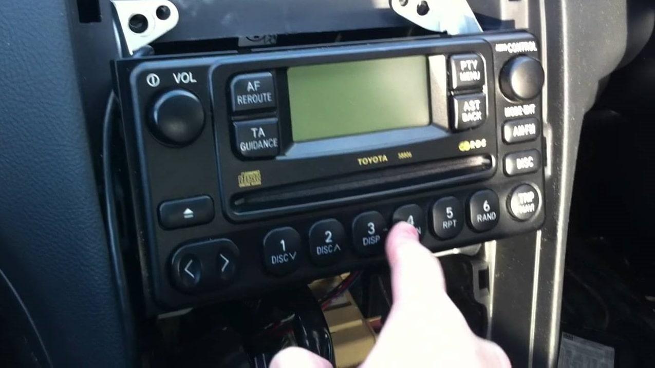 Toyota Previa Radio Code