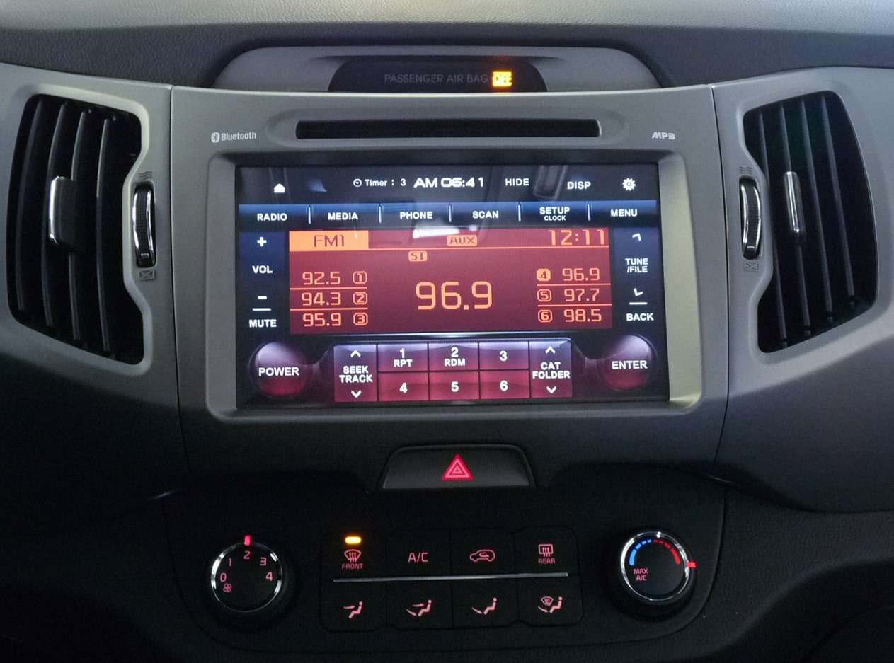 How To Enter KIA Radio Code