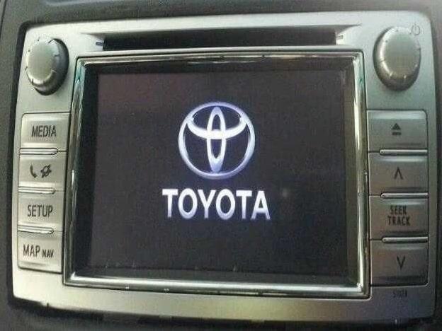 Enter Toyota Radio Code
