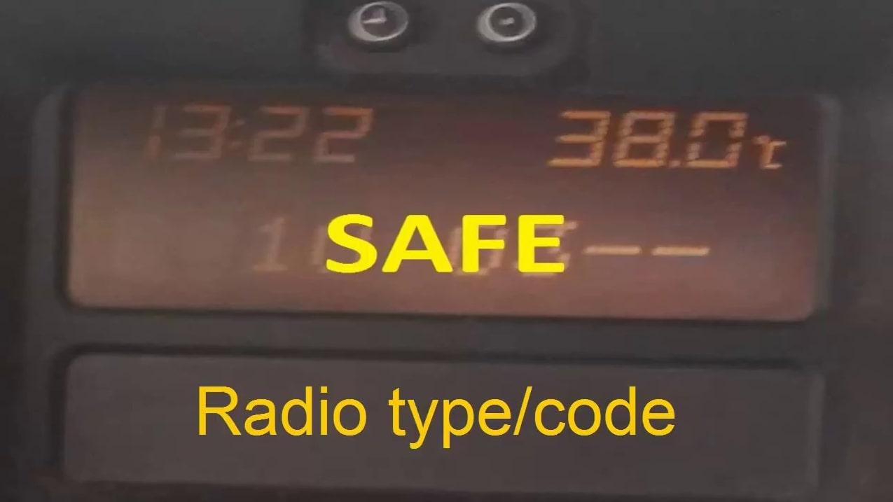 Input Opel Radio Code