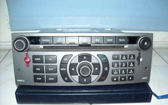 Citroen C5 Radio Code