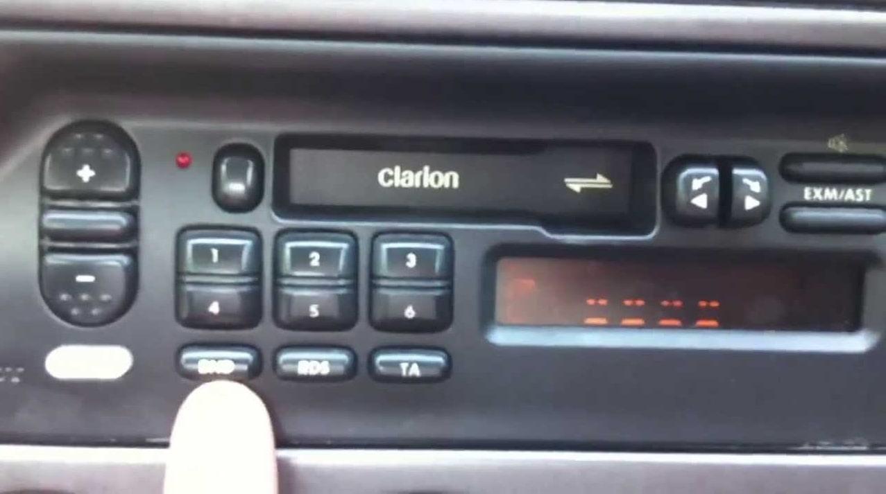 Enter Peugeot Radio Code