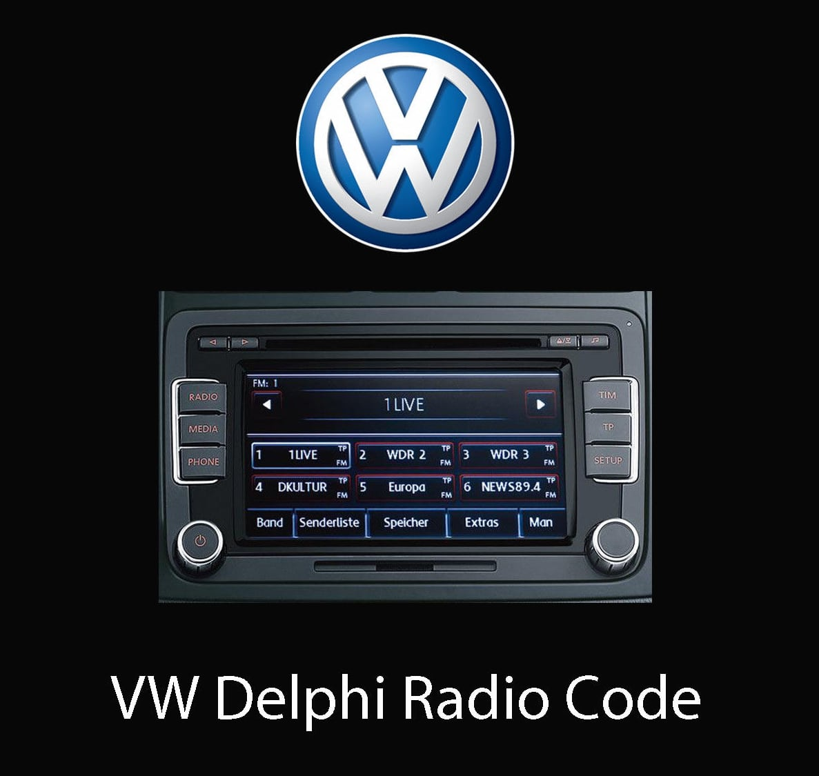 Universal Delphi Radio Code Generator For Every Delphi Car