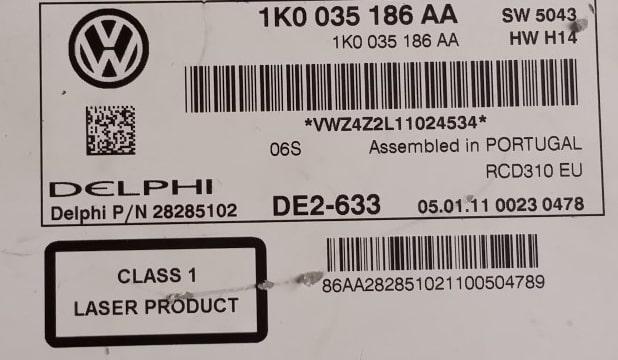 Delphi Radio Code